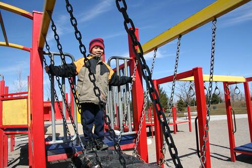 Shane at Milliken Mills park