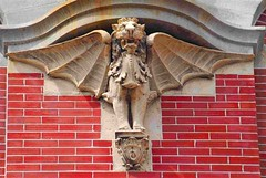 CT WINGED LION (mysunsin) Tags: lion gargoyle griffin gryphon grotesque wingedlion