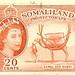 Somaliland Protectorate - 20 cents