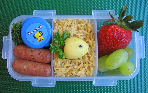 Curried egg lunch for toddler