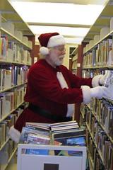 Santa shelves!