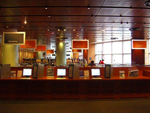 Borrowing Machines, Library@Esplanade