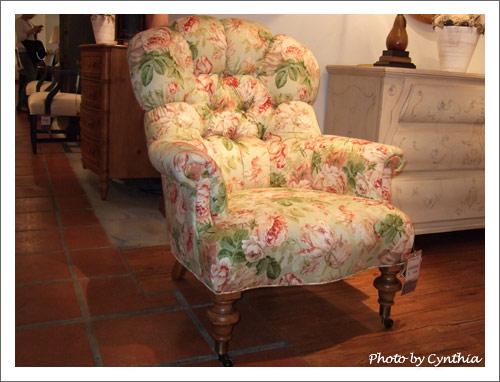 伊莎艾倫女主人椅之一
