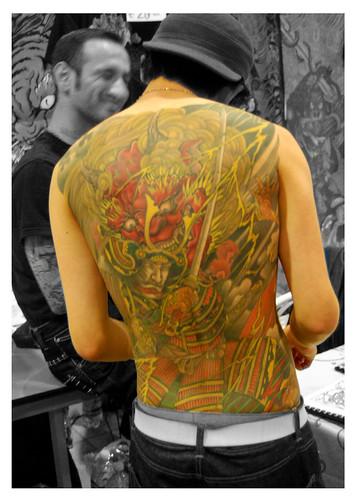 1o7 · Gian Maurizio Fercioni · yellow blaze tattoo