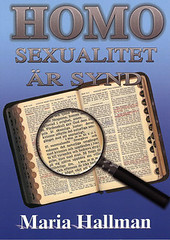 Homosexualitet är en synd
