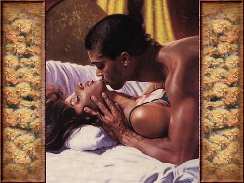 Art nude love