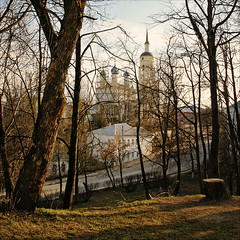 view from hill, re-post {  } (vi4kin) Tags: evening russia canonef1740mmf4lusm orthodoxchurch borovsk