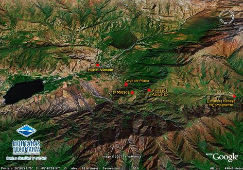 Mapa 1ra etapa