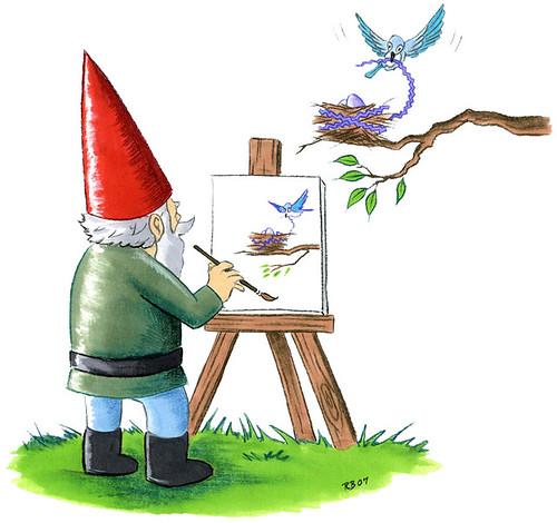 Crafty Wonderland Gnome