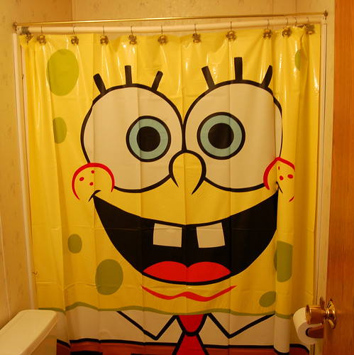The SpongeBob bathroom