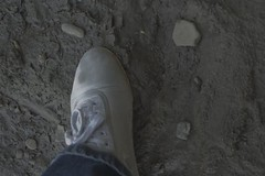 muddy_balloons_2 (sneaker lover) Tags: white fetish balloons shoes dirty canvas worn sneaker muddy keds