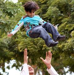 No Parachutes ! (Anas Bukhash (nascity)) Tags: kid child play midair capture throw nascity