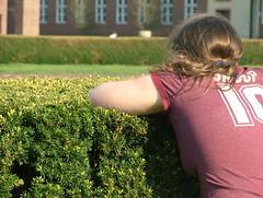 Laura [Has bush] (WickerBasket) Tags: college campus illinois spring april urbana champaign uofi 422 chambana