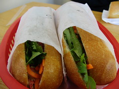 Sandwiches at Binh Minh