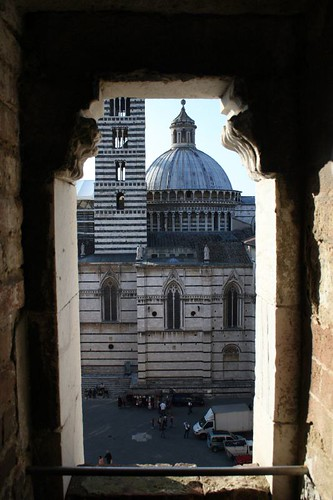 View of the Duomo from the unfinished portion