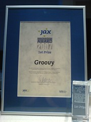 Groovy wins innovation award