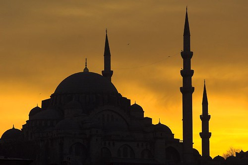 Turkey - Istanbul - Mosque Silhouette