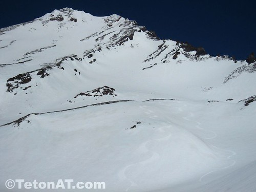Cornucopic conditions on the West Face of Mt Shasta
