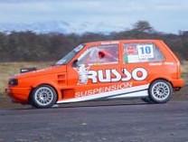 Auto de carrera Edgar Russo