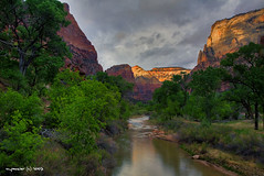 The Virgin River - Zion National Park - HDR (Michael Pancier Photography) Tags: mountains nature landscape utah zion zionnationalpark nationalparks hdr fineartphotography virginriver naturephotography seor americansouthwest naturephotographer floridaphotographer pancier michaelpancier michaelpancierphotography springdaleutah qemdfinchadminfavforjune wwwmichaelpancierphotographycom seorcohiba