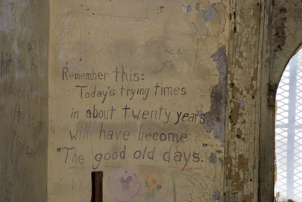 Jail graffiti, old Caldwell County jail