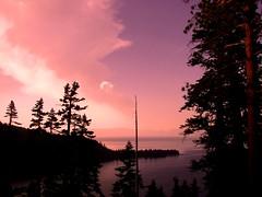 Tahoe sunset (AnotherSaru - Limited mode) Tags: california ca pink sunset usa lake mountains water america us purple united nevada tahoe sierra nv states aplusphoto diamondclassphotographer flickrdiamond superhearts