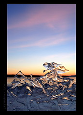 Chimerical Reaction (Jay Arpin) Tags: winter ontario cold ice frozen melting melt melted thunderbay iceformations iceformation illuminatedice icepictures jasonarpin jayarpin icephoto icephotography icephotos photosofice wintercomposition icepicture coldamber icephotographer