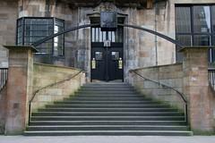 entrance (contagiousmemes) Tags: liberty glasgow mackintosh schoolofart