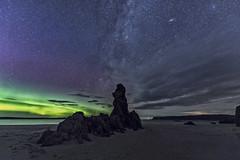 Ceannabeinne (bradders29) Tags: ceannabeinne milkyway aurora stars beach night scotland grahambradshaw