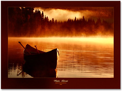Rverie (Imapix) Tags: canada art nature sunrise canon photography photo foto photographie image quebec canoe qubec wilderness soe canot imapix mastigouche gaetanbourque supereco onephotoweeklycontest photosexplore 100commentgroup imapixphotography gatanbourquephotography