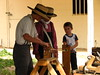 Making rope at Rockledge Ranch Harvest Festival