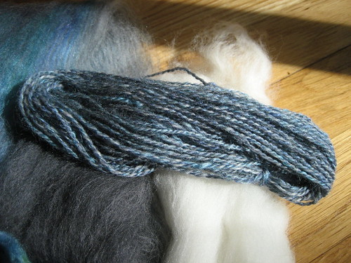 Spun sample