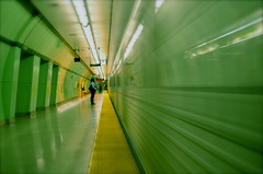 It's Speed (bruno_z) Tags: original motion green art speed train underground subway spiral amazing interesting angle metro action spirals moment expore abigfave spittinshells