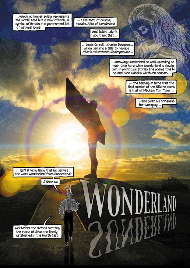 Angel goes to Wonderland