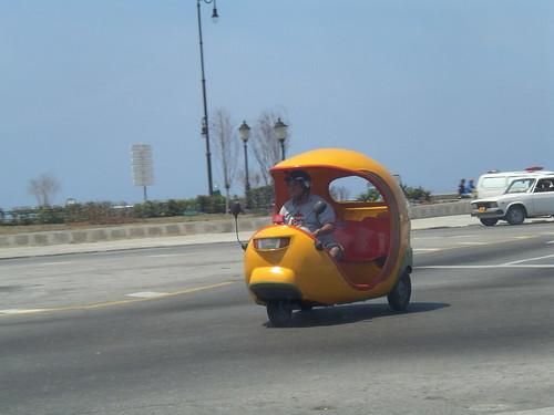A coco-taxi