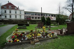 the cemetery and the second hand store