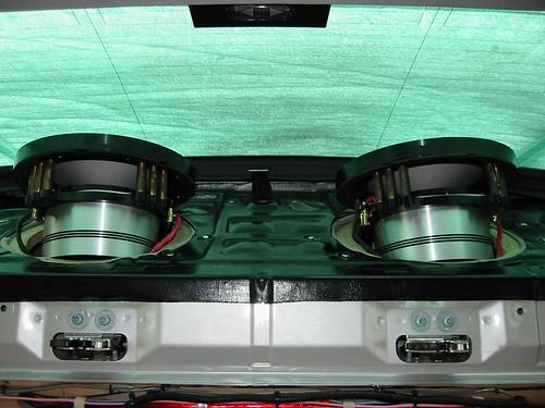 w203 speaker size and HU change I C E In Car