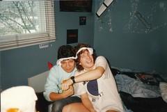 Bob and AJ, Circa 1986
