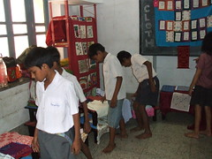Cloth Exhibition for kids at Shikshamitra