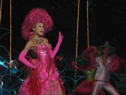 Espectáculo de Phuket Simon Cabaret