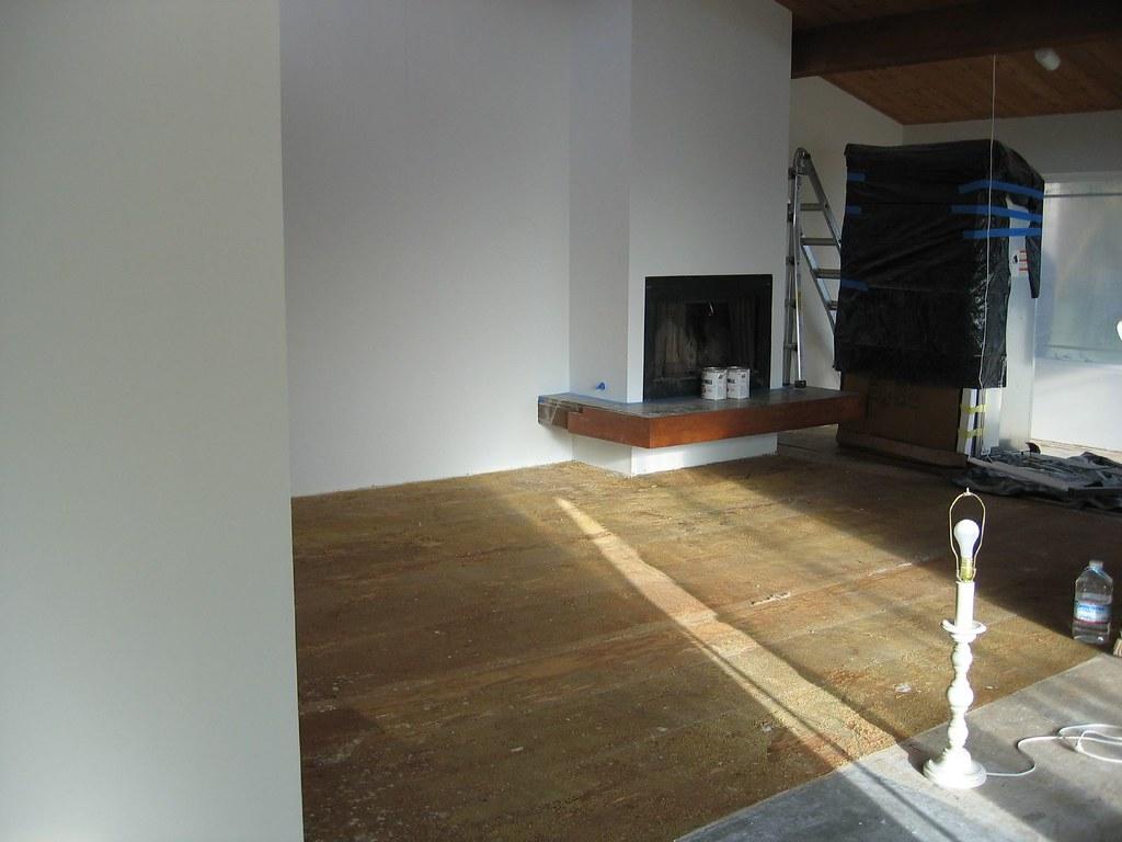 Last carpet removed