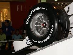 56.BMW F1.07 BRIDGESTONE輪胎特寫