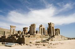 Ancient palace in Persepolis, Iran (Scarto) Tags: iran columns ruin persia palace shiraz persepolis