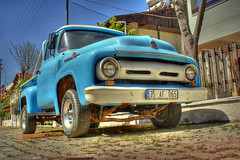 Ford F100 (Ozan) Tags: ford f100 hdr zdere 3xp photomatix uscars