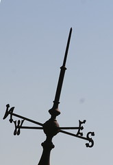 A new angle on the N E W S (foxypar4) Tags: news weather scotland weathervane vane sutherland dornoch royalgolfhotel