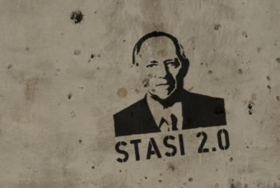 Stasi 2.0 - Greetings from Schäuble