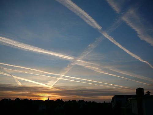 Airplane track, Noordwijk