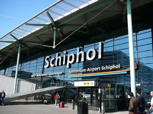 Entrance, Schiphol airport