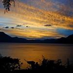 sunset in Atitlan