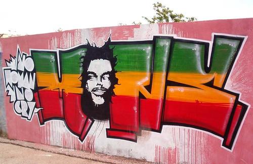 Rasta Graffiti Art Quot Mons Quot Rasta Graffiti Rego